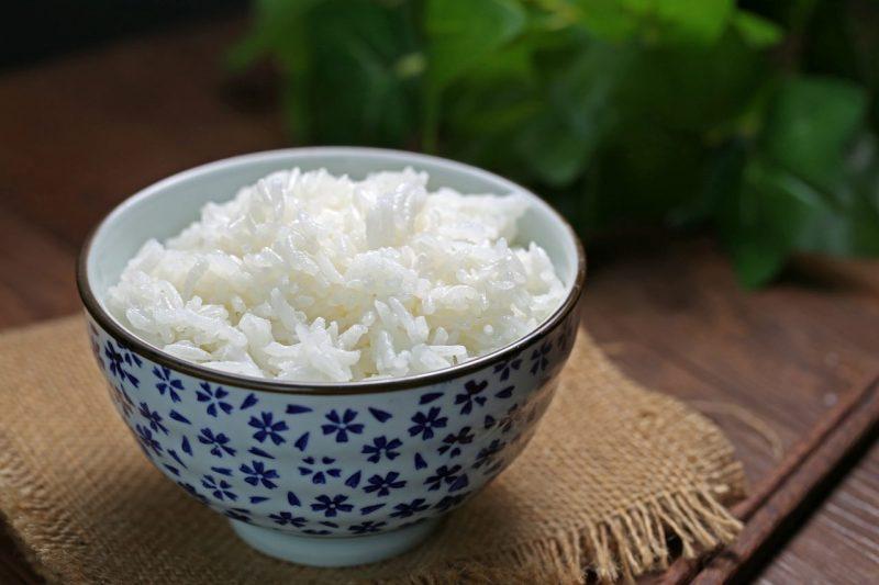 miska s ryžou