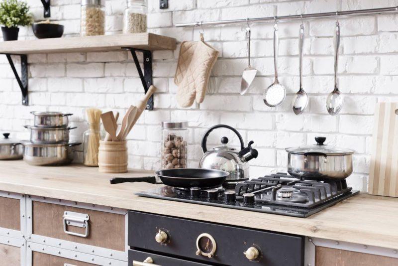 industriálna kuchyňa