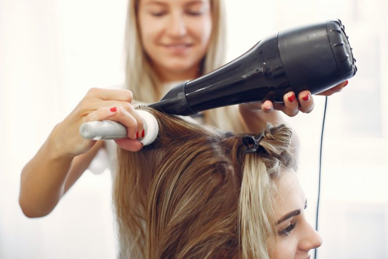 fúkanie vlasov