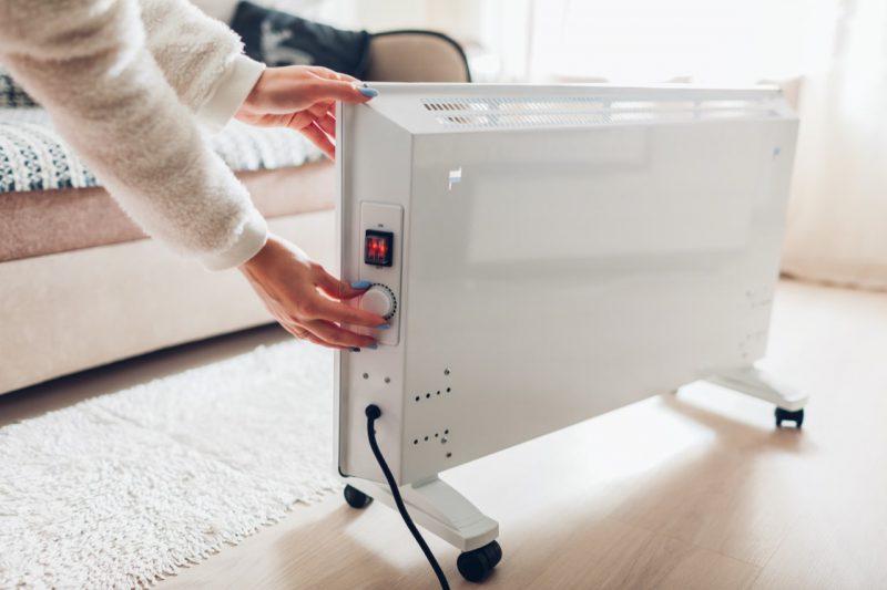 nastavovanie teploty na radiátore infražiarič