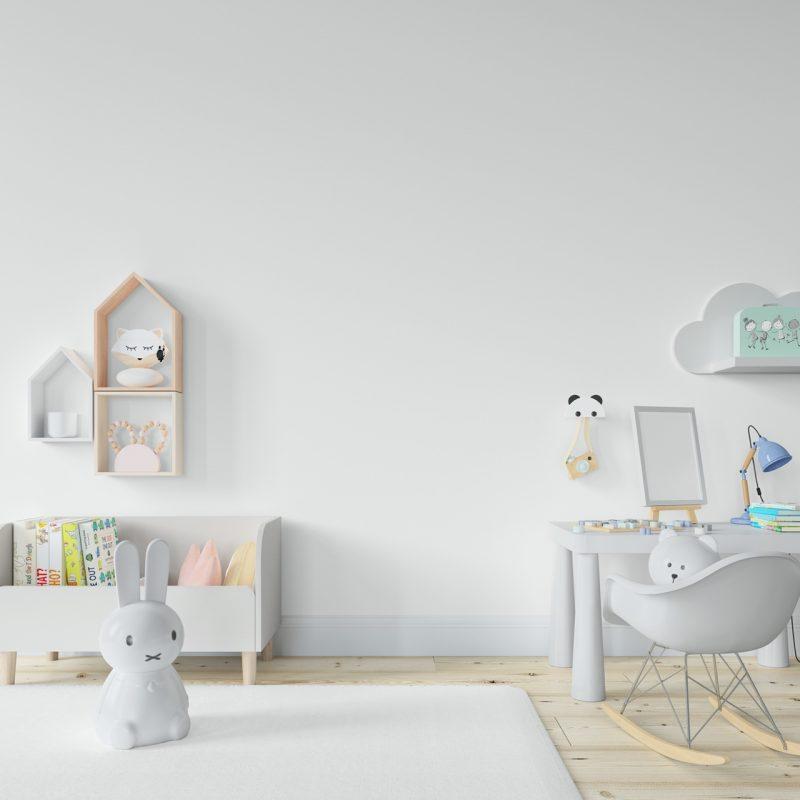biela detská izba