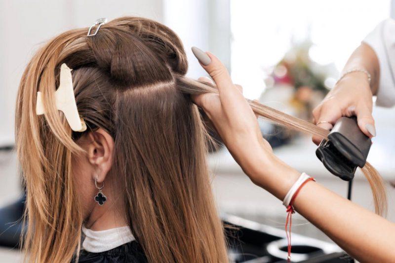 žehlenie vlasov