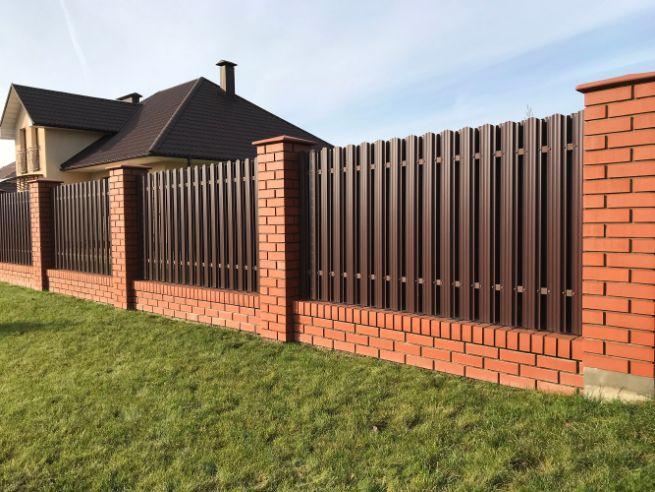 čierne plotové dielce