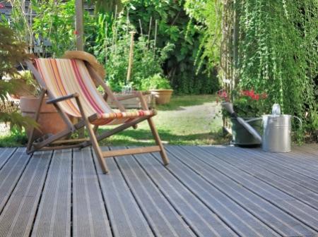 stolička na terase