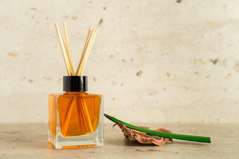 aroma difuzér v skle