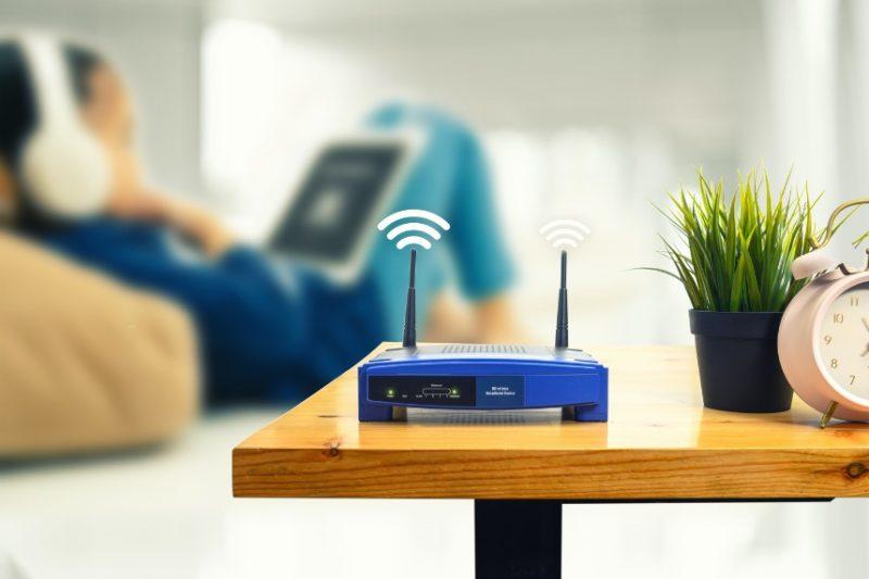 wifi router na UPC internet