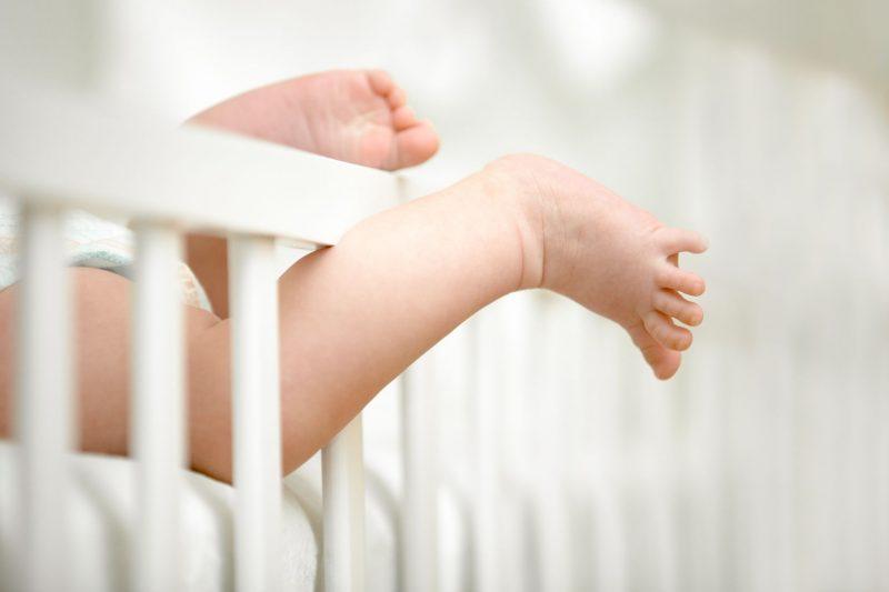 detské nohy
