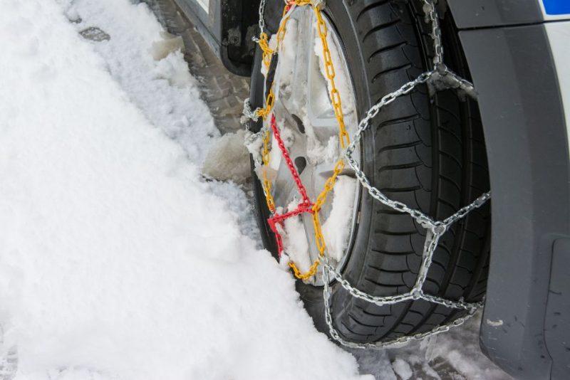 snehové reťaze na auto