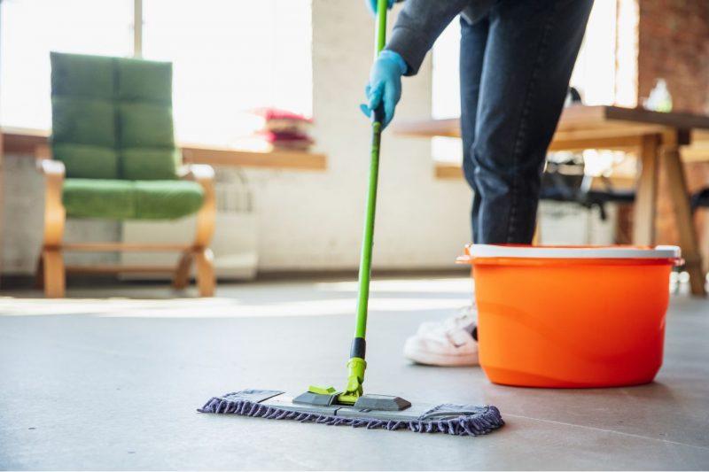 čistenie domu