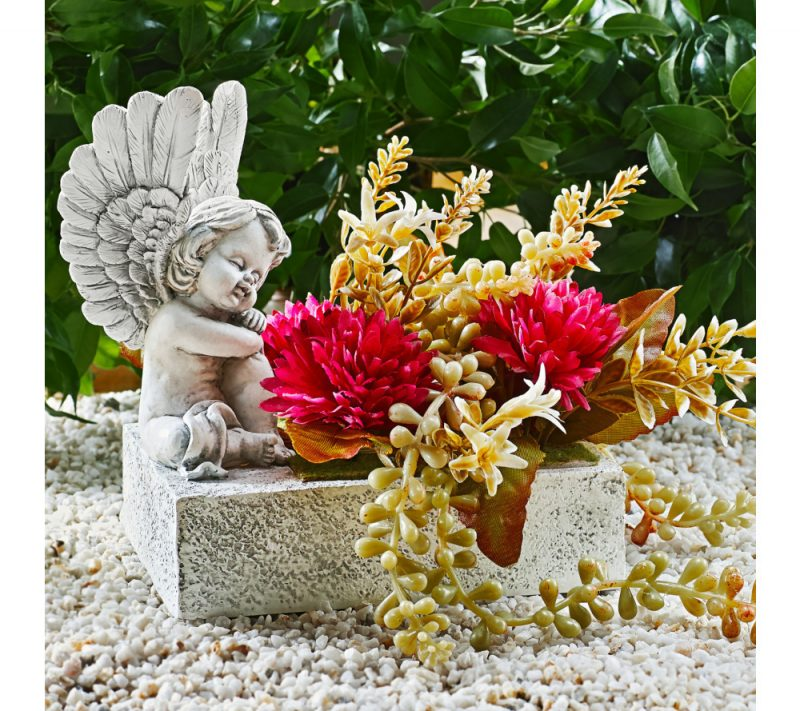 kvetináč anjel